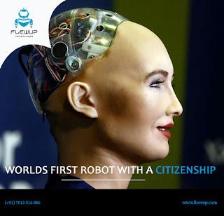 World's First Robot With A Citizenship