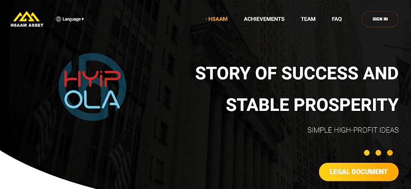 [SCAM] Review HSAAM Asset - Dự án đầu tư vào công ty khai thác vàng của Mỹ - Lãi up 2.5% hằng ngày