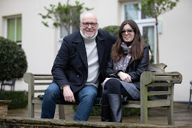 Brindley Sherratt with his daughter Amy (Photo Colin Hart)