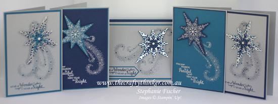 Stampin Up, #thecraftythinker, Christmas Card set, Star of Light, Xmas card, Stampin Up Australia Demonstrator