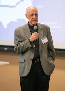 Dr. Robert Ursano gives a presentation.