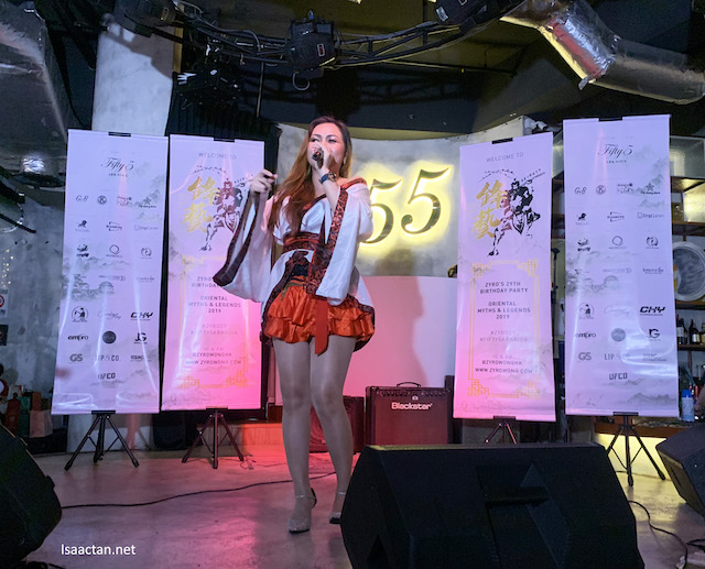 Candice, recording artiste
