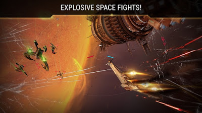 Galaxy on Fire 3 Manticore APK MOD for Android (Unlimited Money)