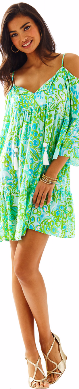 Lilly Pulitzer Alanna Off The Shoulder Dress