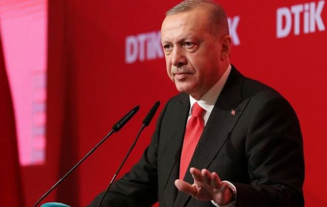 """Στροφή 180 μοιρών από τον """"μέγα"""" Ερντογάν"""