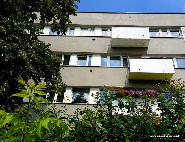 Warszawa Warsaw Żoliborz osiedle Skibniewska sady bloki