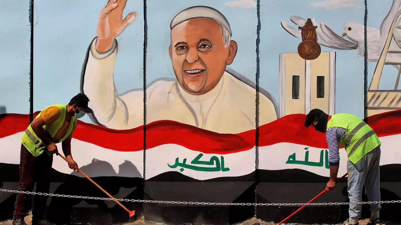 Irak espera al Papa