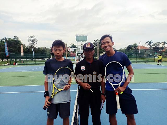 Kejurnas Tenis New Armada Cup XXIV: Atlet Klub CIPRES Melenggang ke Putaran 3