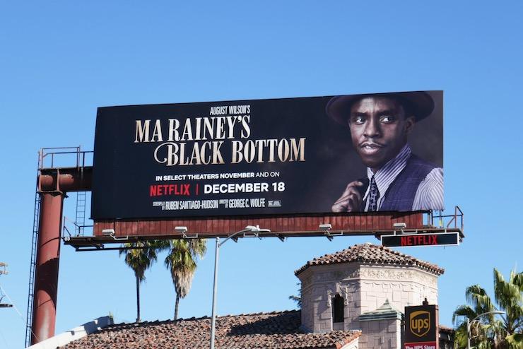 Chadwick Boseman Ma Raineys Black Bottom billboard