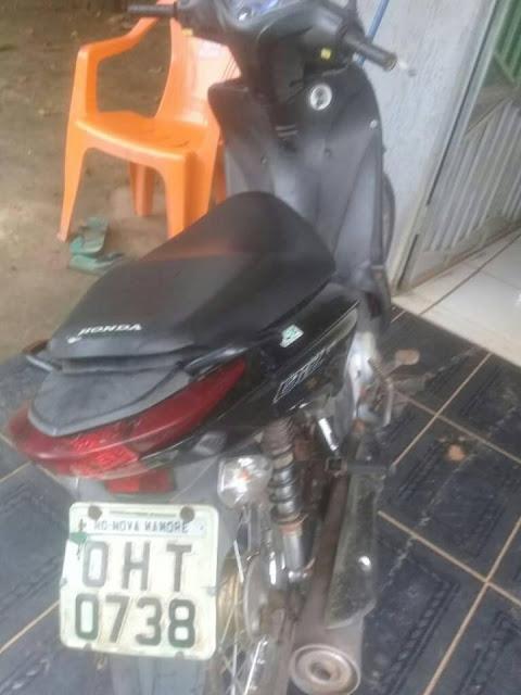 Motocicleta é furtada em frente de residência da vítima