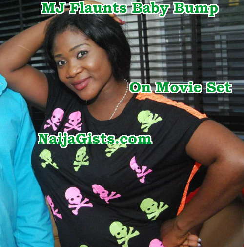 mercy johnson pregnant 3rd child