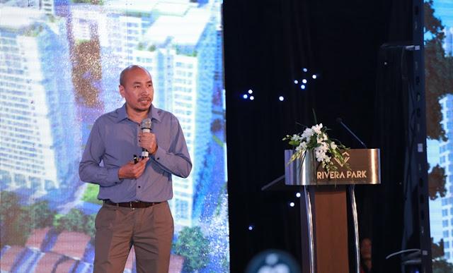Ông Nguyễn Toàn Thắng giới thiệu về ý tưởng thiết kế dự án