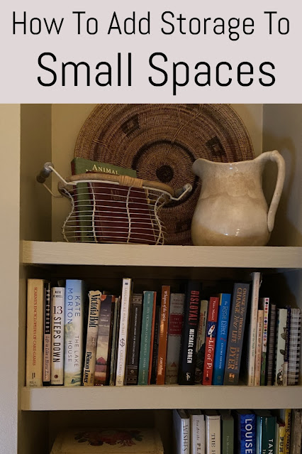 How to add storage to small spaces
