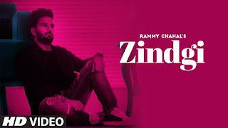 Zindgi Lyrics | Rammy Chahal (Full Song) Harf Cheema | Game Changerz | Latest Punjabi Songs 2018