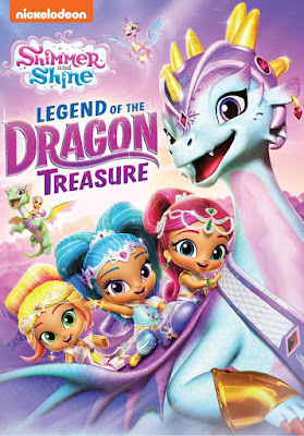 Shimmer And Shin Legend Of the Dragon Treasure 2019 DVD R1 NTSC Latino