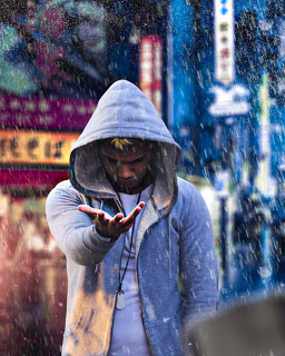 PicsArt Photo Manipulation Rain Png : Manipulation Background