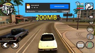 تحميل لعبة GTA San Andreas لجميع الهواتف بحجم صغير