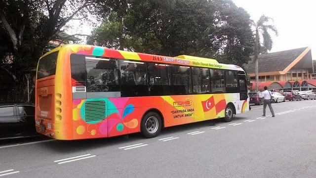 Bas Selangorku SMART Bus Majlis Daerah Hulu Selangor