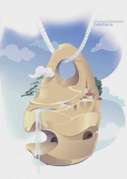 куриный бог камень с дырочкой фото