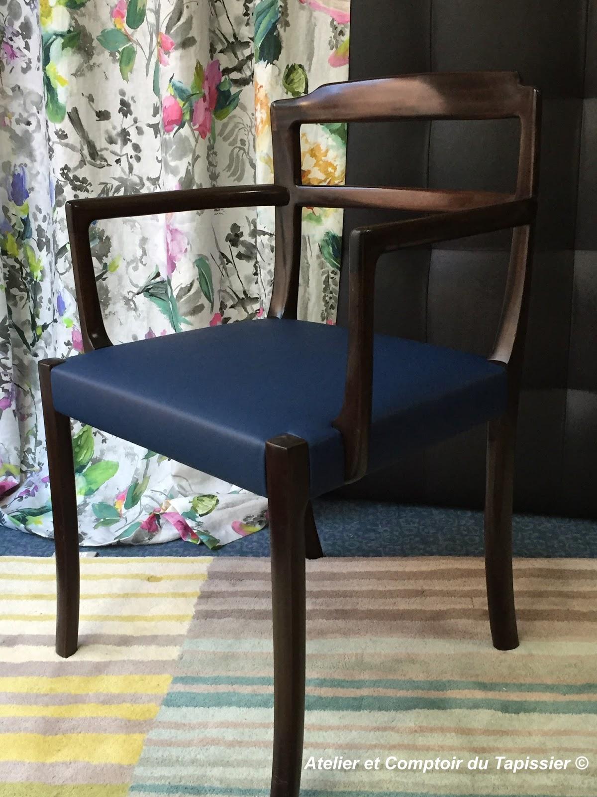 fauteuil de bureau - Tapissier Fauteuil