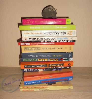 wymiana książek na blogu