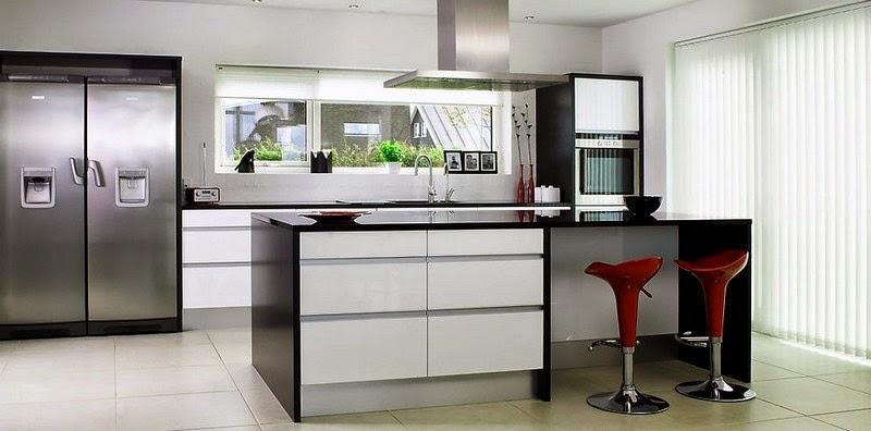 Construindo minha casa clean tend ncia de cozinhas com - Banquetas para isla ...