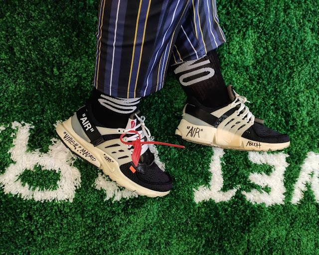 Diccionario sneaker: Off white Presto Virgil Abloh