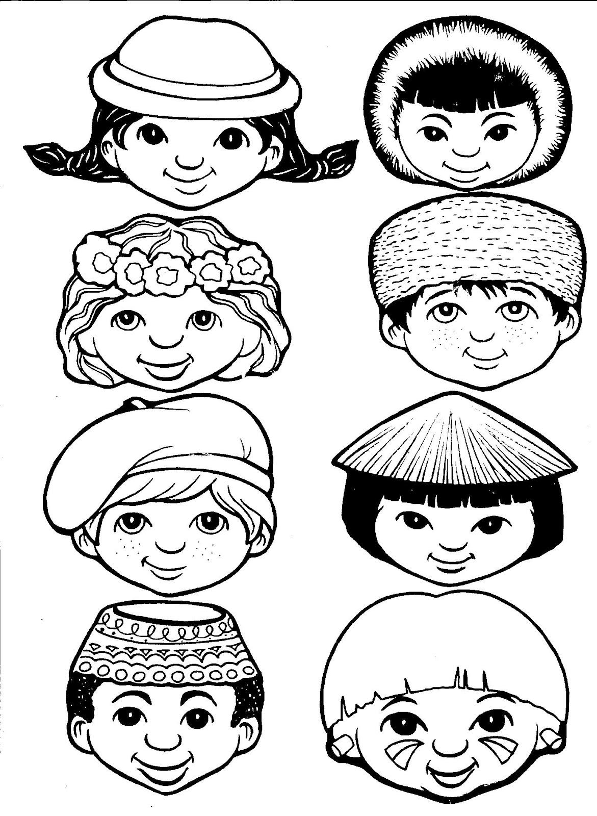Escolinha Bíblica da Garotada: Missões para colorir