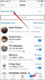 WhatsApp Chat Hide