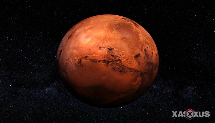 Gambar planet mars - urutan planet ke-4