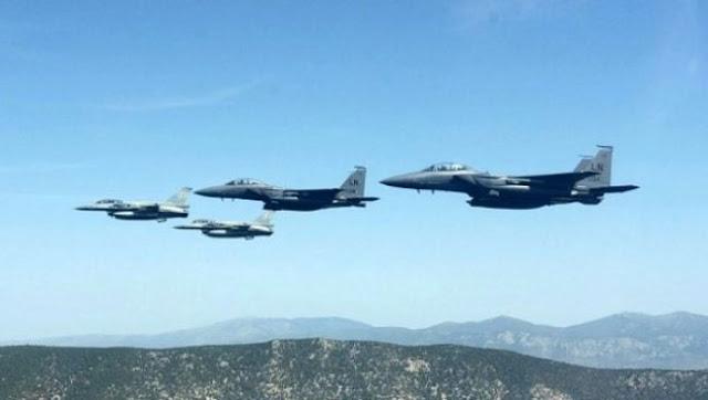 Δεκάδες παραβιάσεις από τουρκικά μαχητικά πάνω από το Αιγαίο