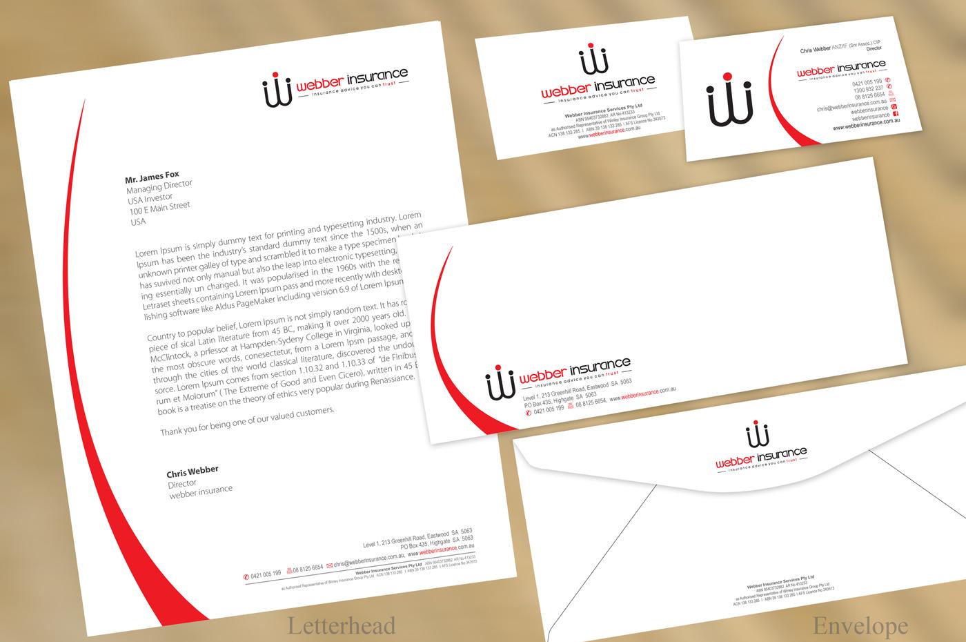 Thiết kế in ấn tiêu đề thư đẹp giá rẻ tại Hà Nội Webber
