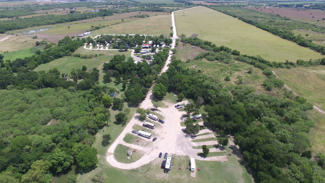 RV Sites on the Medio Creek