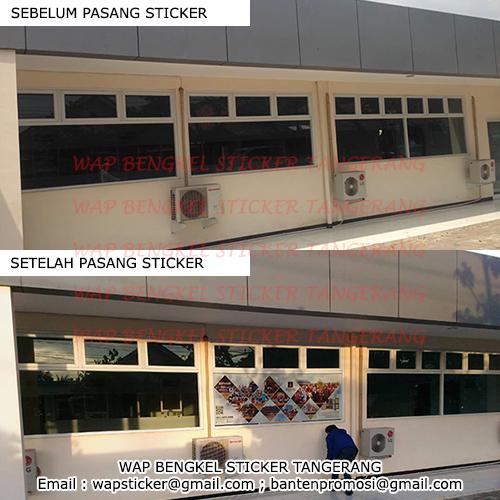 sticker one way vision: Sticker Oneway Kaca Gedung Kantor