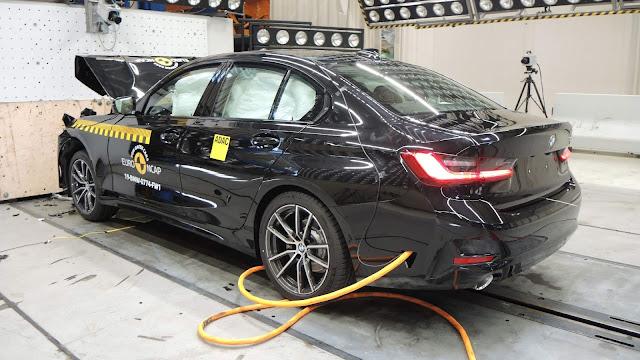 Novo BMW Série 3 2020 ganha 5 estrelas - EuroNCAP