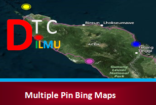 ara Membuat Multiple Pin pada Bing Maps