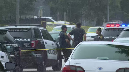Shooter killed by security officer at Houston apartment complex