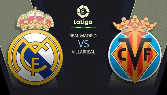 Real Madrid vs. Villarreal EN VIVO a través de ESPN y SKY Sports: horarios y canales de TV por LaLiga