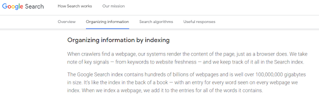 google indexing time