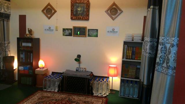 Bahagian merawat pesakit Pusat Rawatan Al-Qayyum