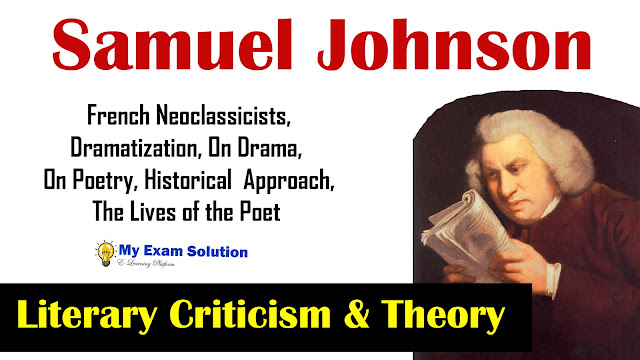 literary criticism, samuel johnson, literary criticism of samuel johnson for ugc net, ugc net jrf, english literary critics, english language and literarture, literary theory