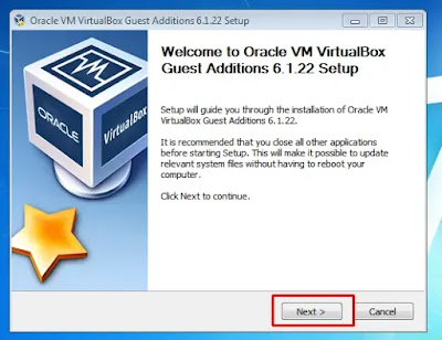 Install VirtualBox Guest Additions Image 1