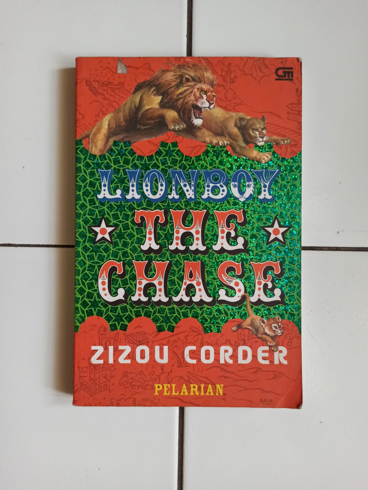 Lion Boy Pelarian Penulis Zizou Corder