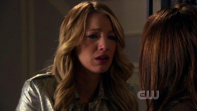 Serena confessa a Blair di aver ucciso qualcuno