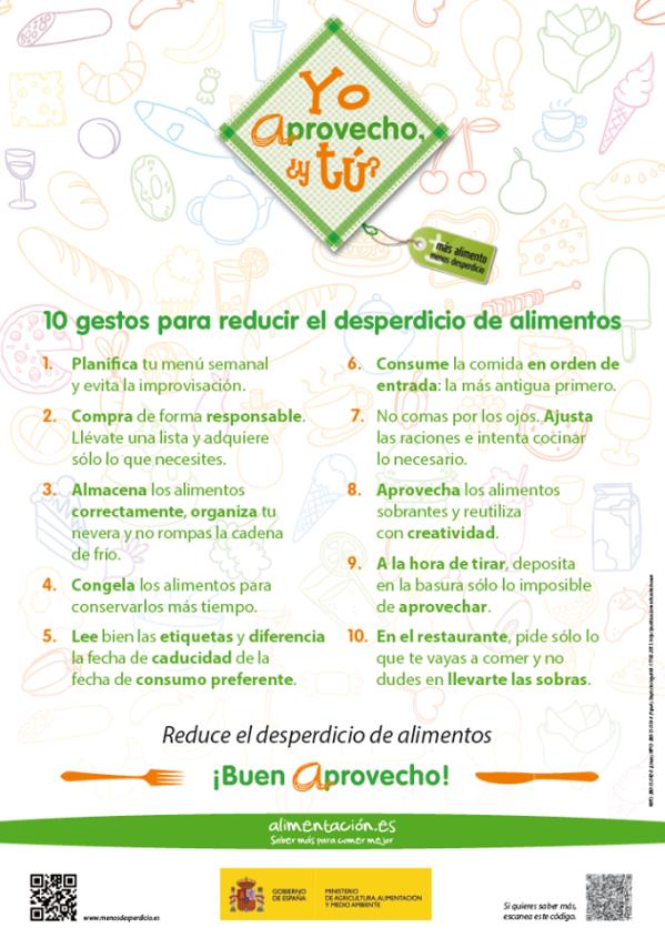 10 trucos para reducir la cantidad de alimentos que desperdiciamos