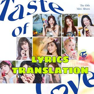 Alcohol-Free Lyrics Translation in English -TWICE