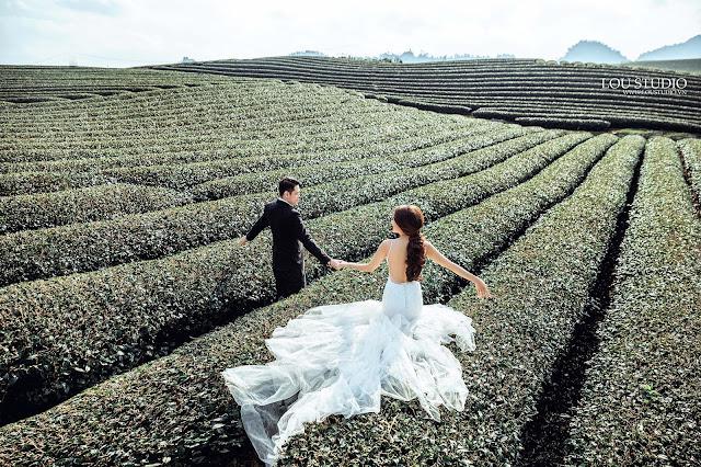 Lựa chọn Mộc Châu là địa điểm tạo nên bộ ảnh cưới hoàn hảo