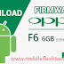 Oppo F6 Stock Firmware ROM (Flash File) Download
