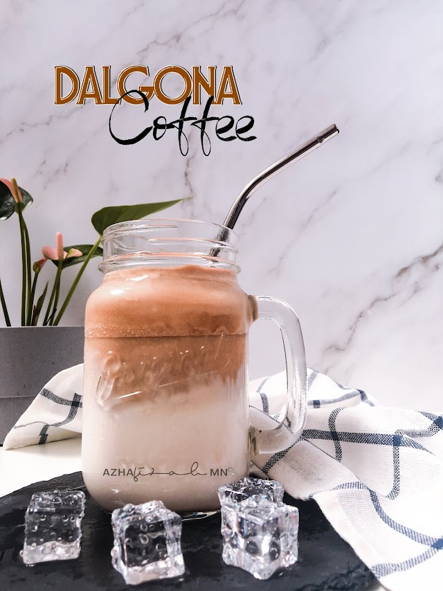 Dalgona Coffee Viral