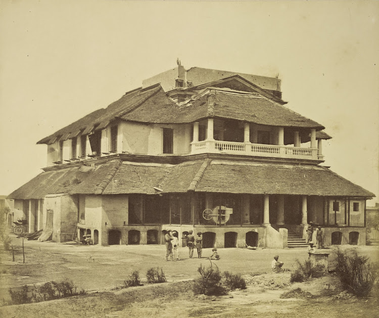 Major Banks' House - Lucknow c1858